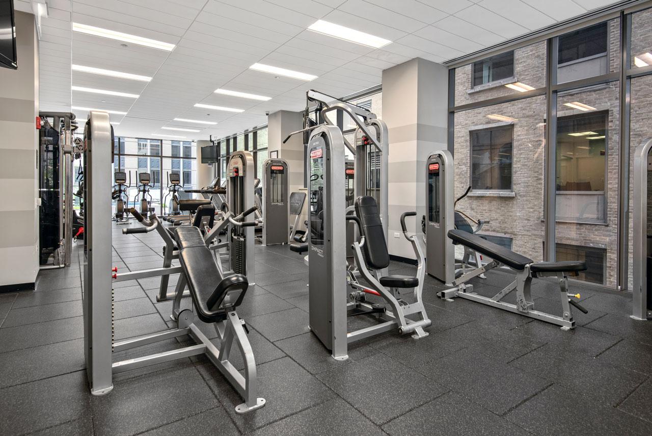 24-Hour FItness Center Equipment